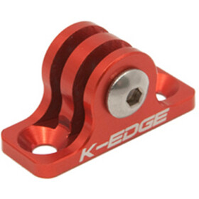 K-EDGE GO BIG Universal Mount GoPro Hero red